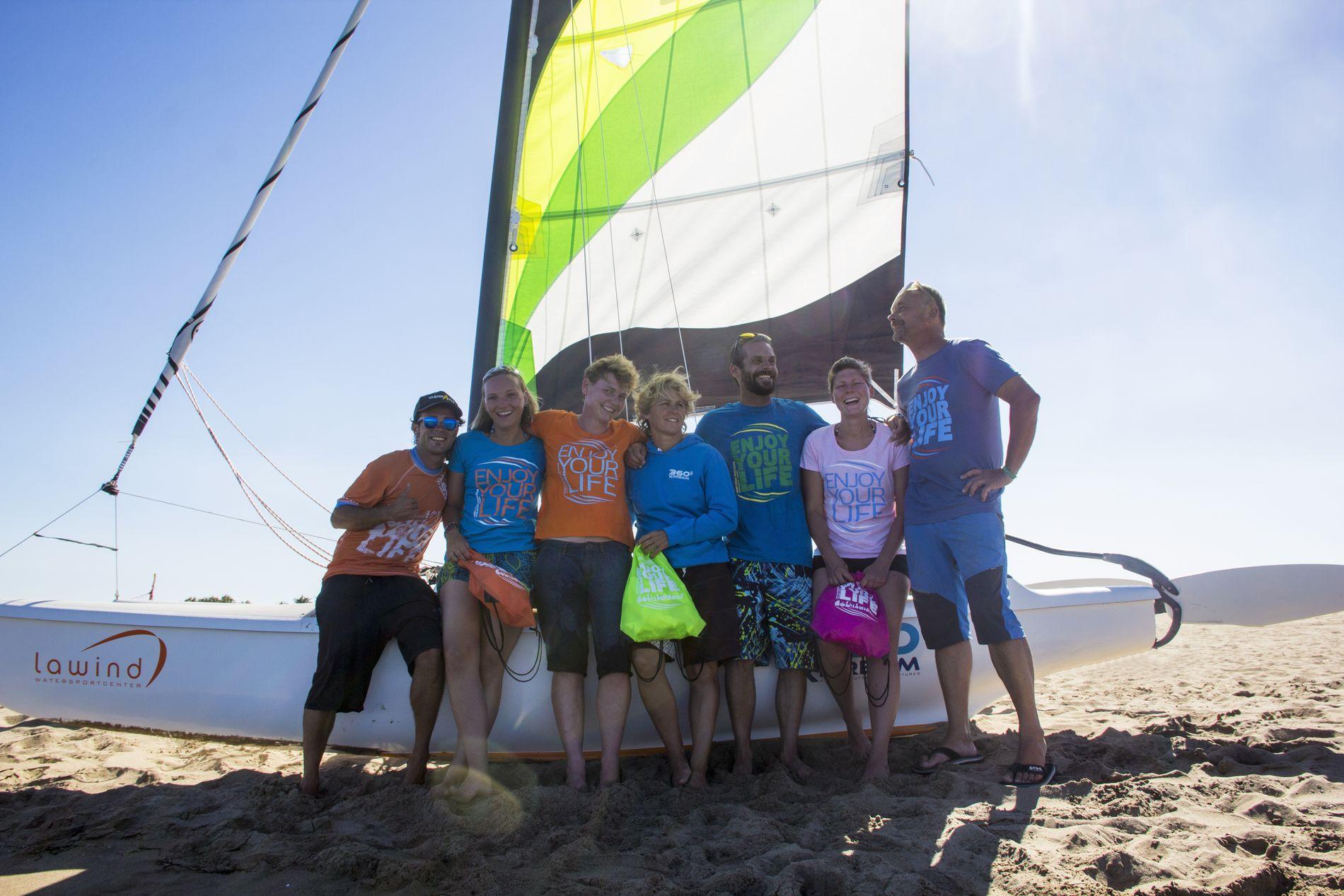 Wassersport und Jugendreisen